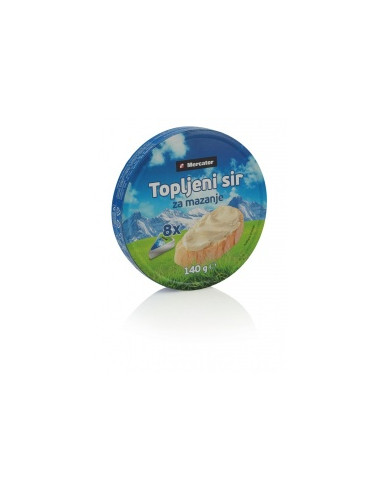 Topljeni sir, Mercator, 140 g